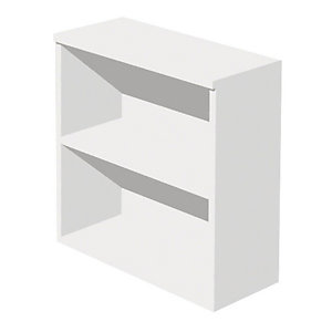 """Mobile basso a giorno """"Linea Pronto"""" -  cm 80 x 35 x 72 h. - Bianco"""