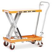 Mobile scissor lift tables