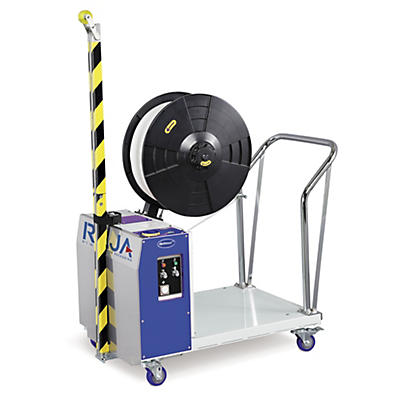 Mobile Vertical Pallet Strapping Machine