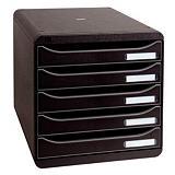 Module de classement Big Box Plus Exacompta coloris noir