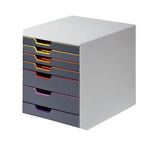 Module de classement Varicolor® 7 tiroirs coloris gris