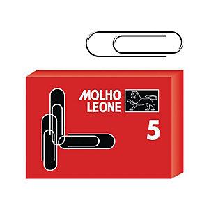 MOLHO LEONE Fermagli zincati - Arrotondati - Dimensioni mm 57 (confezione 100 pezzi)