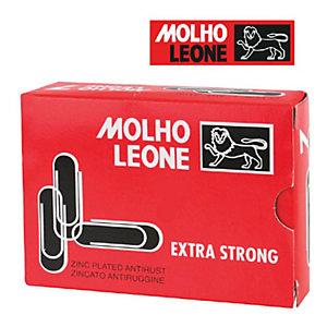 MOLHO LEONE Fermagli zincati - Arrotondati - Dimensioni mm 75 (confezione 25 pezzi)