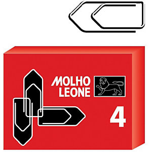 MOLHO LEONE Fermagli zincati - Triangolari - Dimensioni mm 32 (confezione 100 pezzi)