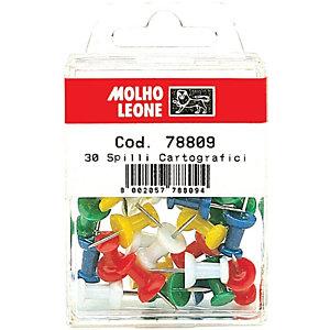 MOLHO LEONE Spilli cartografici (confezione 30 pezzi)