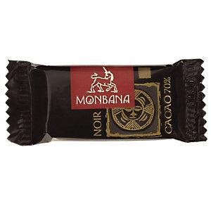 MONBANA CHOCOLATIER DEPUIS 1934 Paquet de 200 mini tablettes de chocolat Monbana 5g