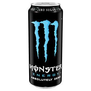 M MONSTER ENERGY Absolutely Zero Bebida enérgetica, 500 ml