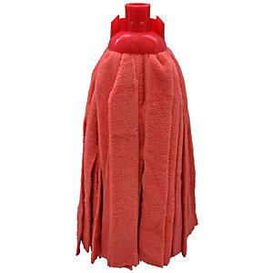 Mop microfibra filo tagliato, Formato g 200, Rosso