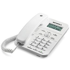 Motorola CT202 Teléfono de sobremesa Blanco