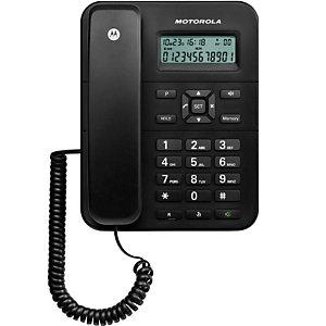 Motorola CT202 Teléfono de sobremesa Negro