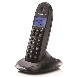Motorola Serie C10 Modelo C1001 Teléfono inalámbrico Negro