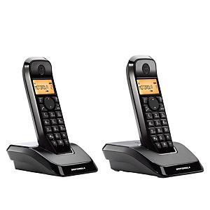 Motorola Startac S1202 Teléfono inalámbrico Negro