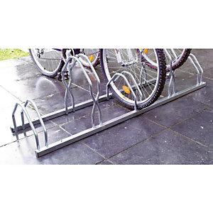 MOTTEZ Support cycles à poser 2 niveaux 5 places