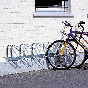 MOTTEZ Support vélos mural 5 places