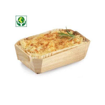 Moule de cuisson en bois