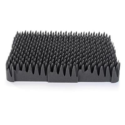 Mousse de calage pour mallette plastique grande capacité##Schaumstoff-Polsterung für grossvolumige Koffer