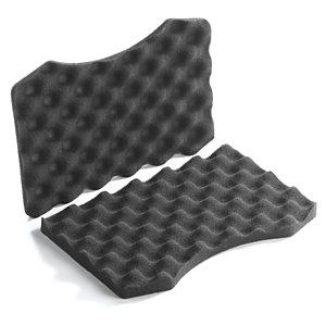 Mousse de calage pour mallette plastique noire haute résistance