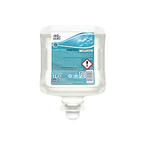 Mousse lavante antimicrobienne Oxybac, lot de 6 cartouches de 1 L