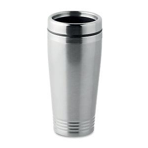 Mug de voyage isotherme en acier 40 cl - Inox