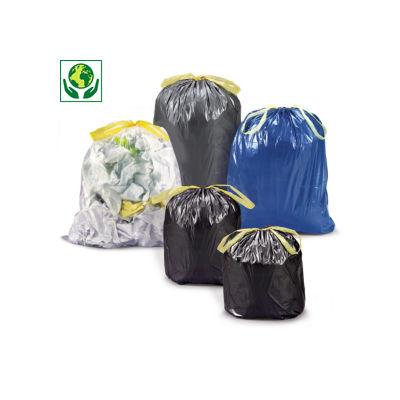 Müllsäcke mit Verschlussband