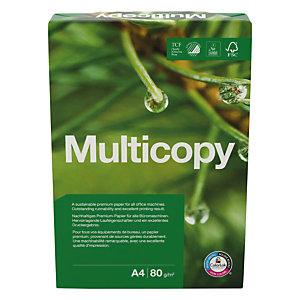 MULTICOPY 5 Ram Original Papier Multi-Usage pour Jet d'encre et Laser A4 Blanc 80 g/m² 500 Feuilles