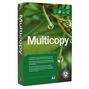 MULTICOPY Original Papier Multi-Usage pour Jet d'encre et Laser A3 Blanc 90 g/m² 500 Feuilles