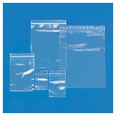 Multipack of standard grip-seal polybags