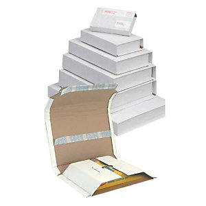 MULTIWELL 25 emballages pour livres avec langette de securité, A4
