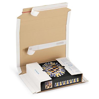 Multiwell® - hvite selvklebende omslag - Pakke i postkassen - Bring
