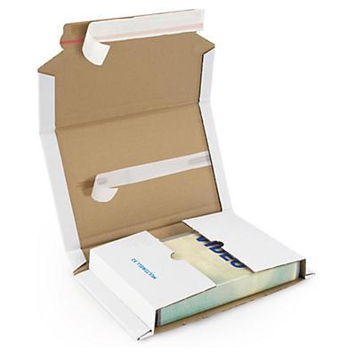 Multiwell vita självhäftande omslag - A5-format