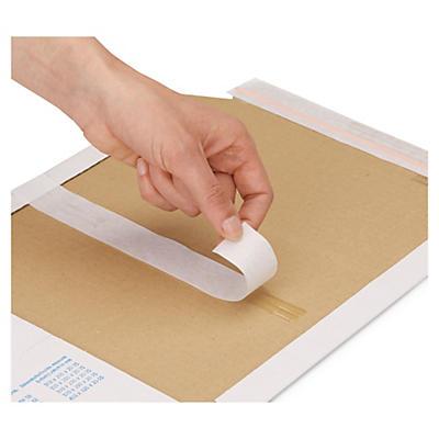 Multiwell - vita självhäftande pappomslag