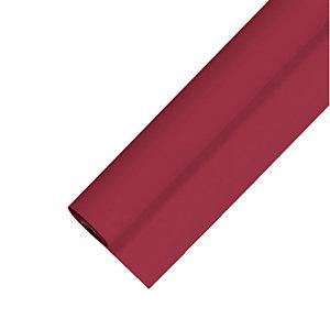 Nappe non tissé en rouleau de 1,20 x 25 m, coloris bordeaux