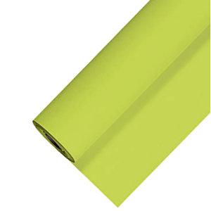 Nappe non tissé en rouleau de 1,20 x 25 m, coloris vert kiwi