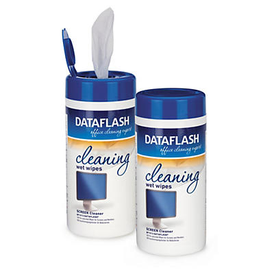 Nass-Reinigungstücher für Bildschirme