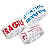 Nastri adesivi di spedizione in polipropilene silenzioso bianco RAJATAPE