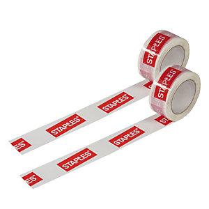 Nastro adesivo da imballo personalizzabile, Avana, 3 colori di stampa, Minimo di acquisto 288 rotoli a multipli di 144 per volta