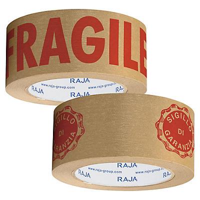 Nastro adesivo in carta kraft con stampa