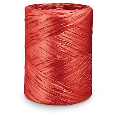Nastro regalo rosso effetto rafia