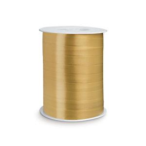 Nastro regalo satinato, 10 mm x 250 m, Oro