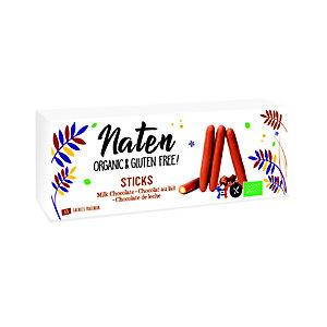 Naten Choco Stick, Bastoncini al cioccolato al latte, 130 g