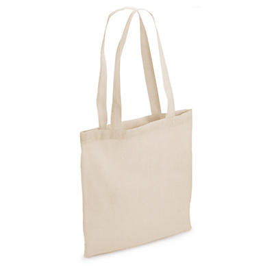 Natural and coloured cotton tote bags