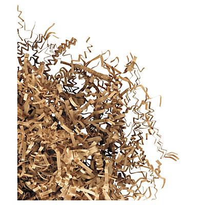 Natural, crinkle cut shredded paper