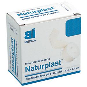 Naturplast Esparadrapo hipoalergénico de 5 m x 2,5 cm