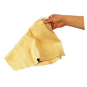 Natuurlijke zeemlap ongeveer 52 x 35 cm voor het wassen van ruiten
