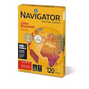 Navigator Carta multiuso, A4, 120 g/m², Bianco (confezione 250 fogli)