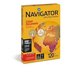 Navigator Colour Documents Papel multiusos blanco A4 120 g/m²<BR>