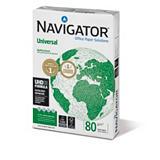 Navigator Universal Papel Multifunción para Faxes, Fotocopiadoras, Impresoras Láser e Impresoras de Inyección de Tinta Blanco A4 80 g/m²