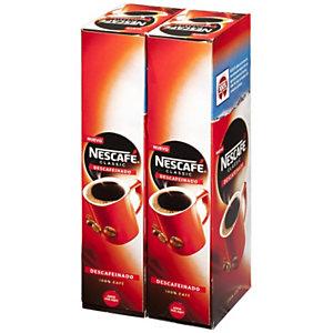 Nescafé CLASSIC Café soluble descafeinado en sobres de 2 gr