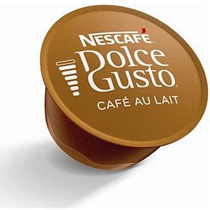 Nescafé Dolce Gusto Café con Leche Cápsulas de café, 16 dosis, 160 g