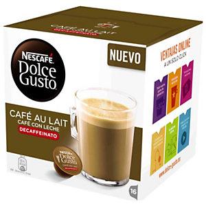 Nescafé Dolce Gusto Café con Leche Descafeinado Cápsulas de café, 16 dosis, 112 g